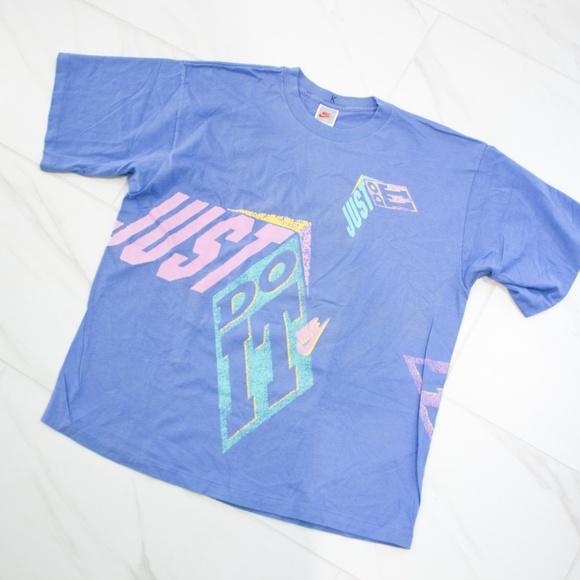 13e9ca72af50f Nike | Vintage 90's Pastel 'Just Do It' T-Shirt